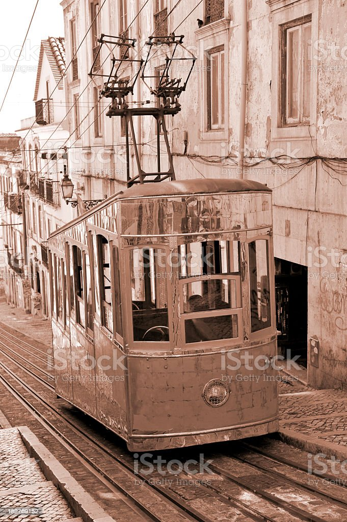 Elevador da Bica royalty-free stock photo