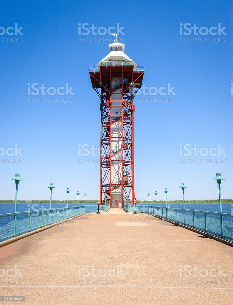 Bicentennial Tower stock photo