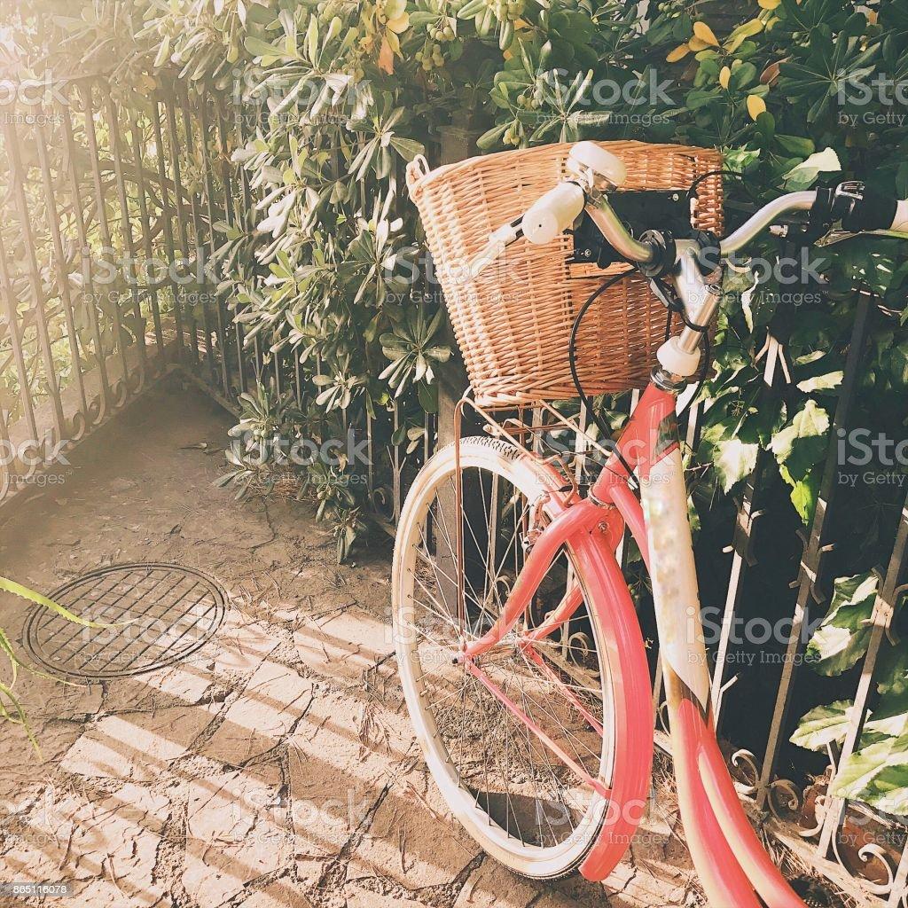 Bicicleta vintage stock photo