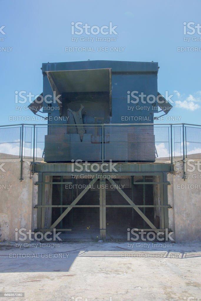 Bickley Point Military Gun Storage stock photo