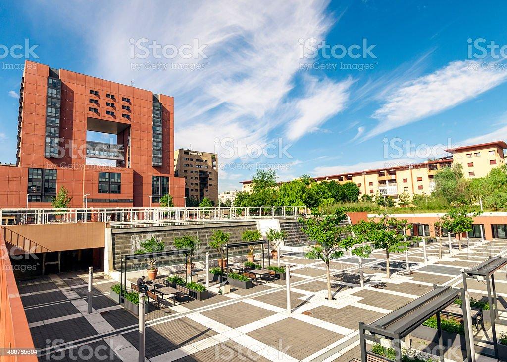 Bicocca University, Milan Italy stock photo