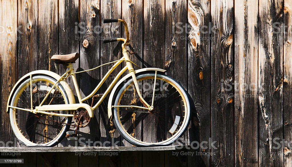 Bicycle Build for One royalty-free stock photo