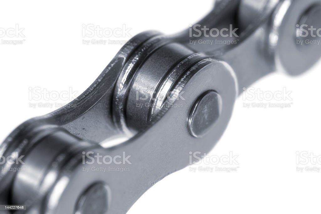 Bicycle chain close-up royalty-free stock photo