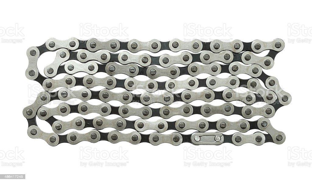 Bicycle chain stock photo