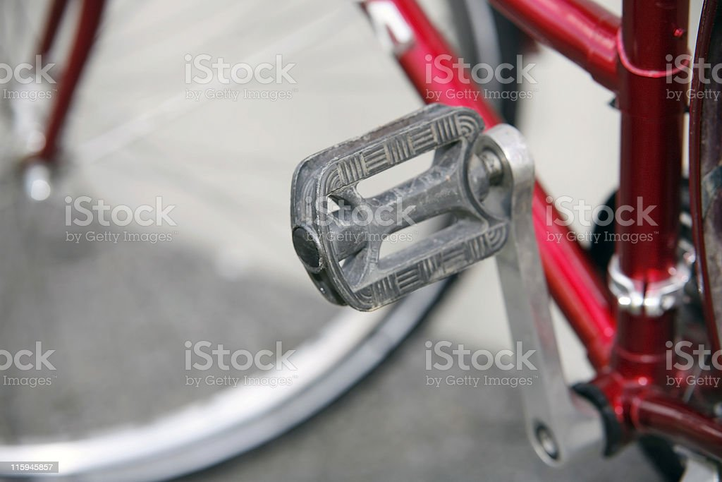 bicycle detail royalty-free stock photo