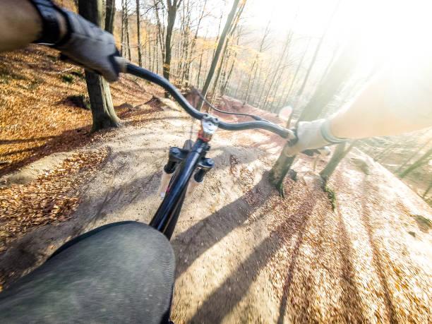 Fahrrad Dirt Bike POV – Foto