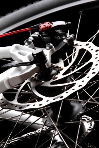 Bicycle Disc Brake Stock Photo - Download Image Now