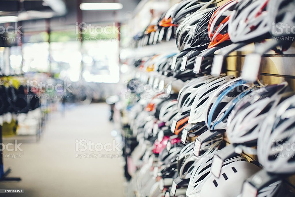 Bicycle Equipment stock photo