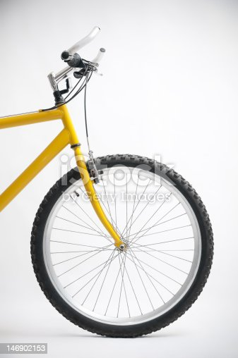 istock Bicycle Front Wheel 146902153