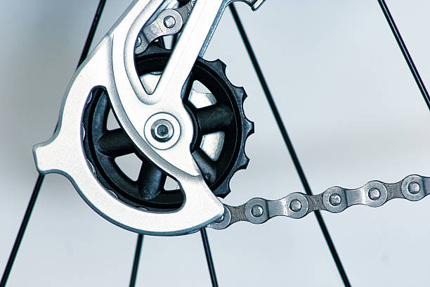 Bicycle Gears and Components stock photo