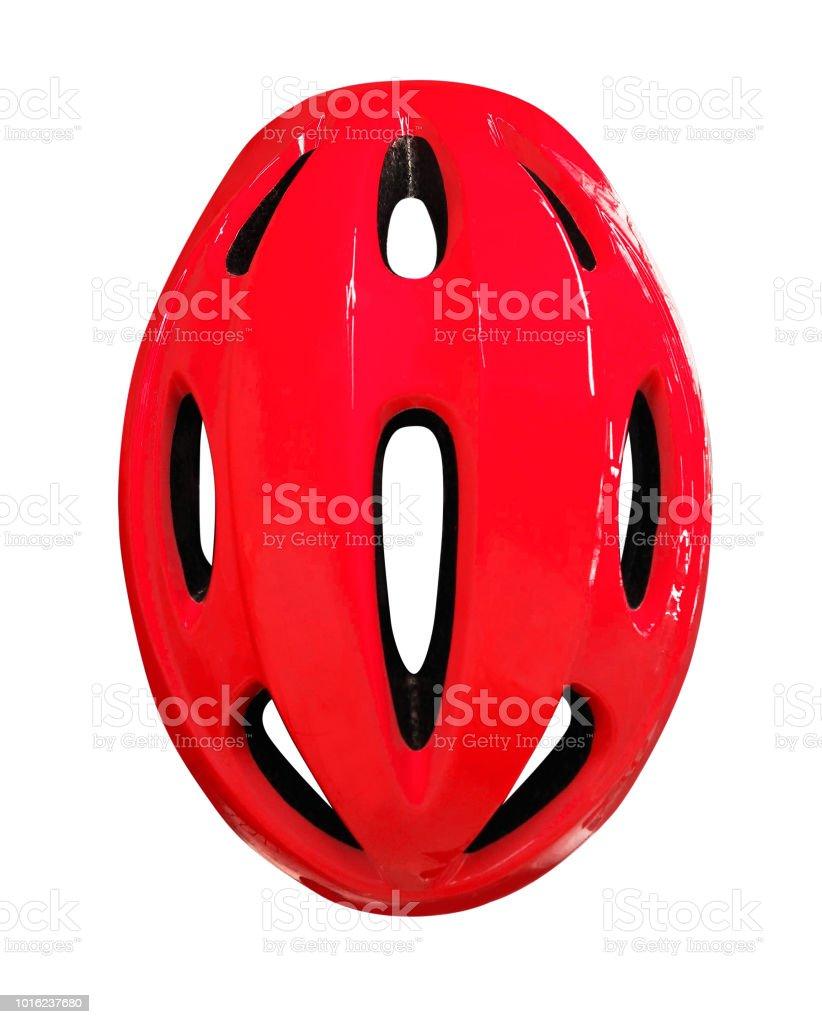 Bicycle helmet isolated stock photo