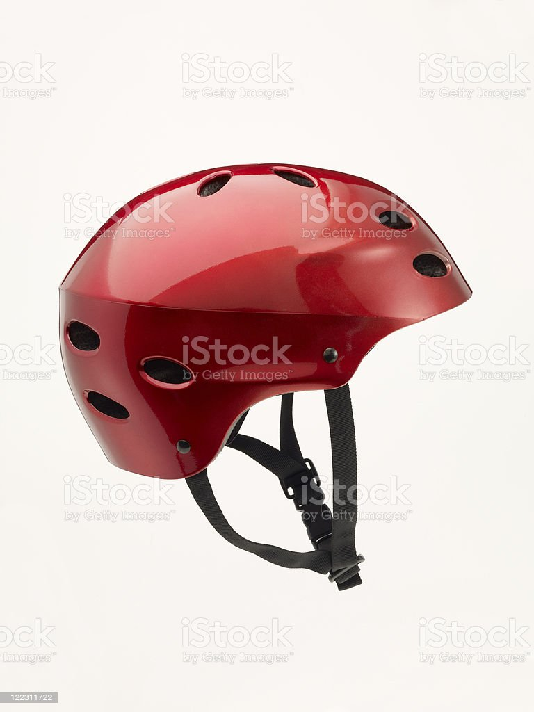 Bicycle Helmet stock photo