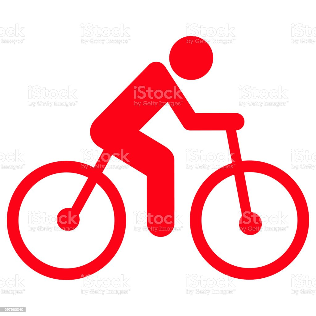 Bicycle Icon stock photo