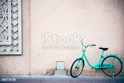 istock Bicycle in the street 830778138