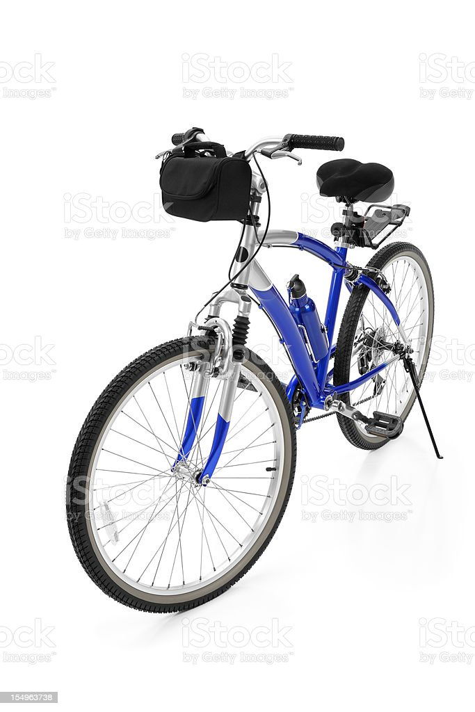 Bicycle Isolated on White royalty-free stock photo