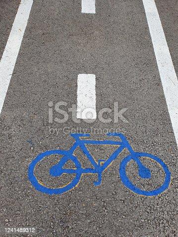 667005568 istock photo Bicycle lane 1241489312