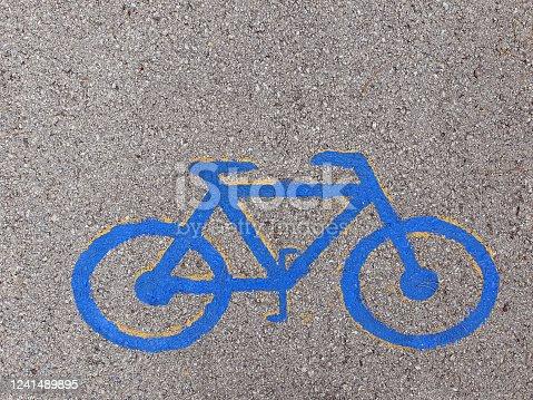 667005568 istock photo Bicycle lane 1241489895
