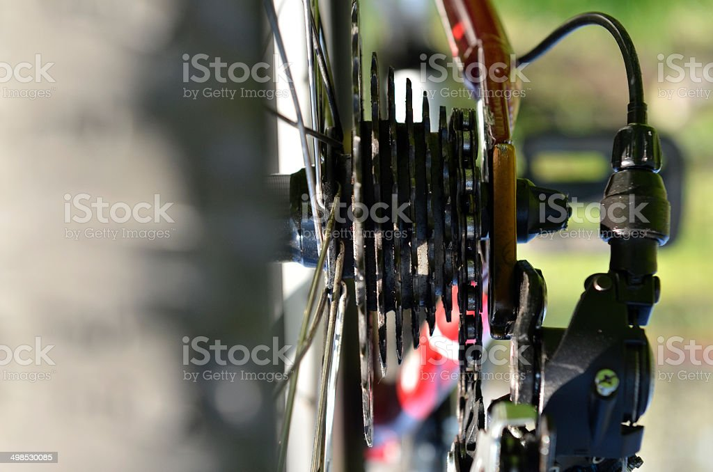bicycle mechanism royalty-free stock photo
