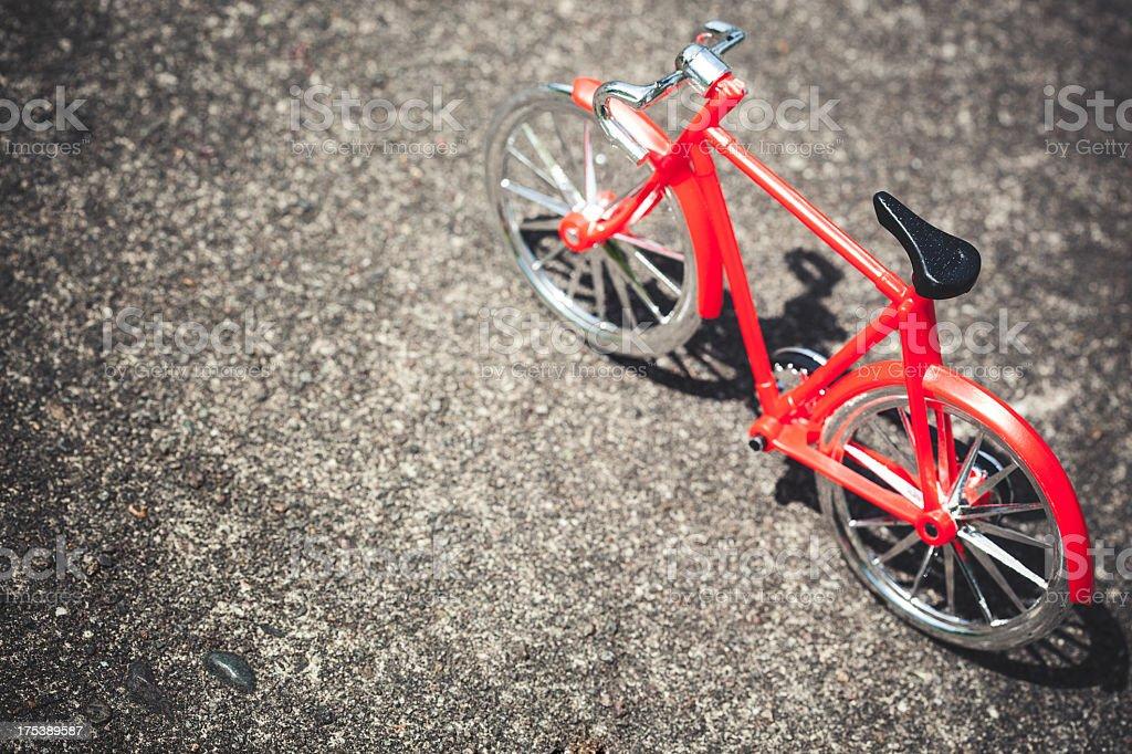 Bicycle Miniature stock photo