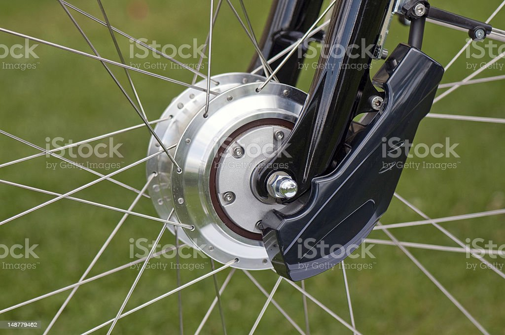 bicycle motor royalty-free stock photo