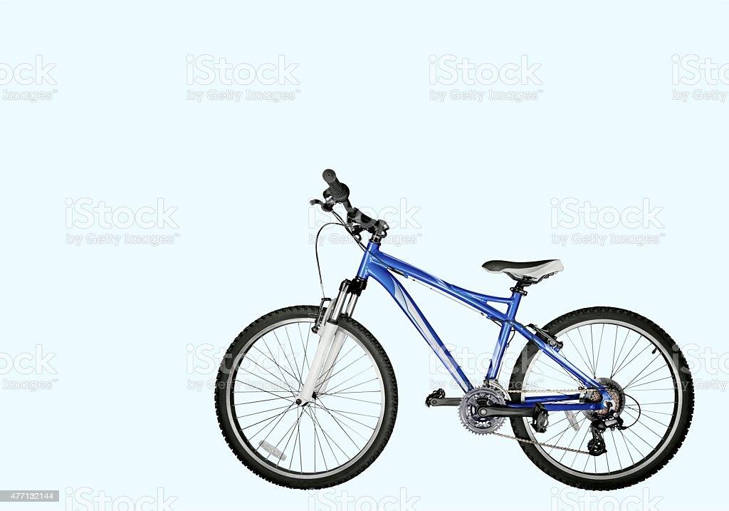Bicycle, Mountain Bike, Isolated stock photo