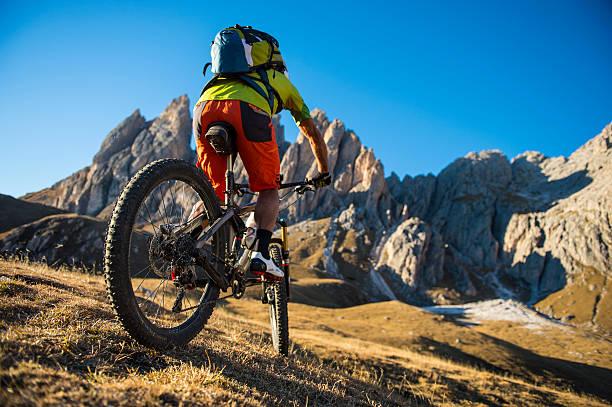 Fahrrad mountain holidays – Foto