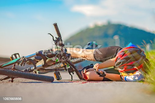 508966965 istock photo Bicycle on the route 1092665856