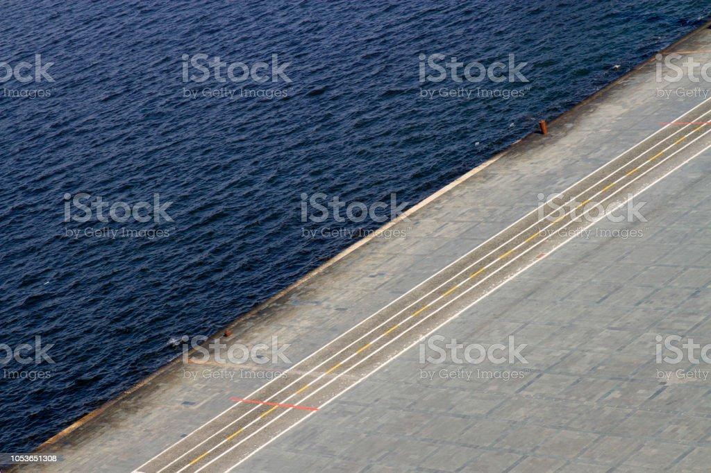 Radweg am Meer – Foto