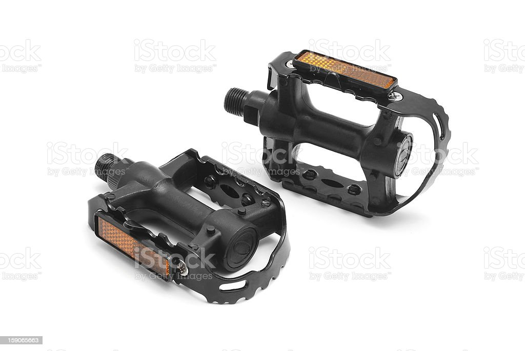 bicycle pedals royalty-free stock photo