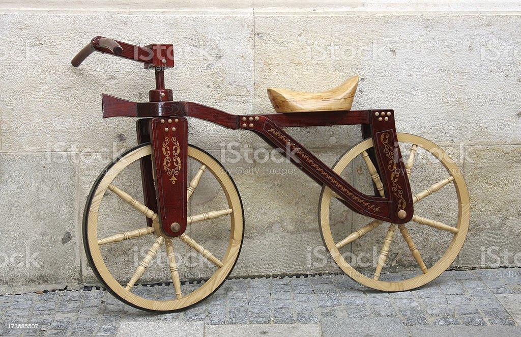 In bicicletta - foto stock