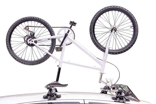fahrrad - fahrradhalter stock-fotos und bilder