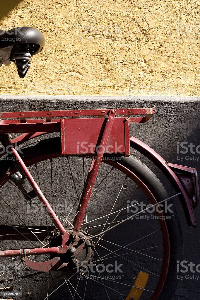 In bicicletta foto stock royalty-free