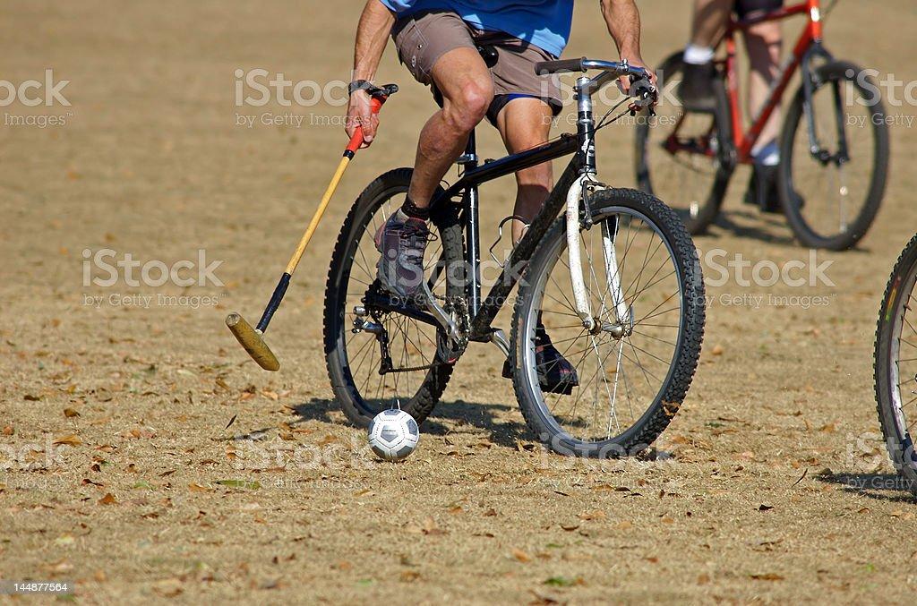 Bicycle Polo 2 stock photo