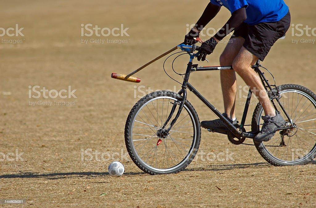 Bicycle Polo 6 stock photo