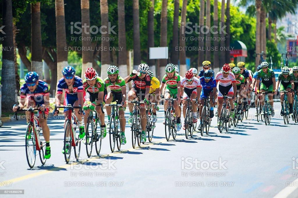 Bicycle Race ' 2. INTERNATIONAL TOUR OF MERSIN ' stock photo