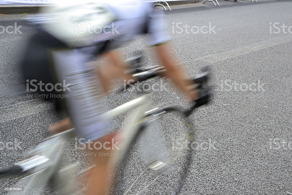 bicycle race in Berlin royalty-free stock photo