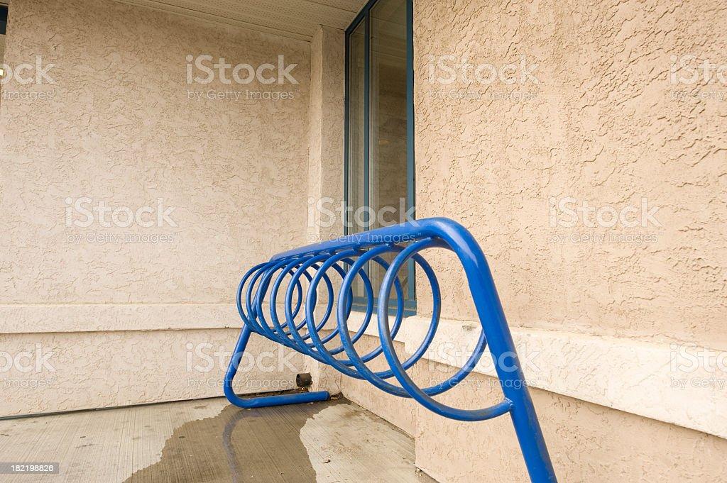 Bicycle Rack. royalty-free stock photo