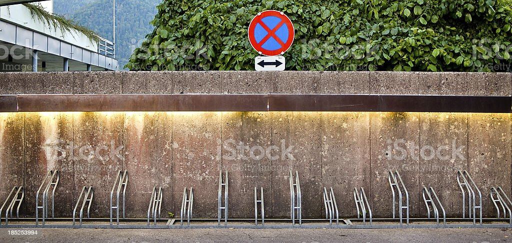 Bicycle Rack royalty-free stock photo