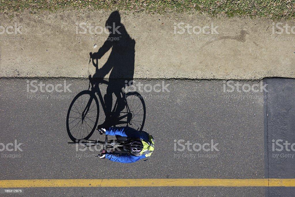 Bicycle Rider royalty-free stock photo
