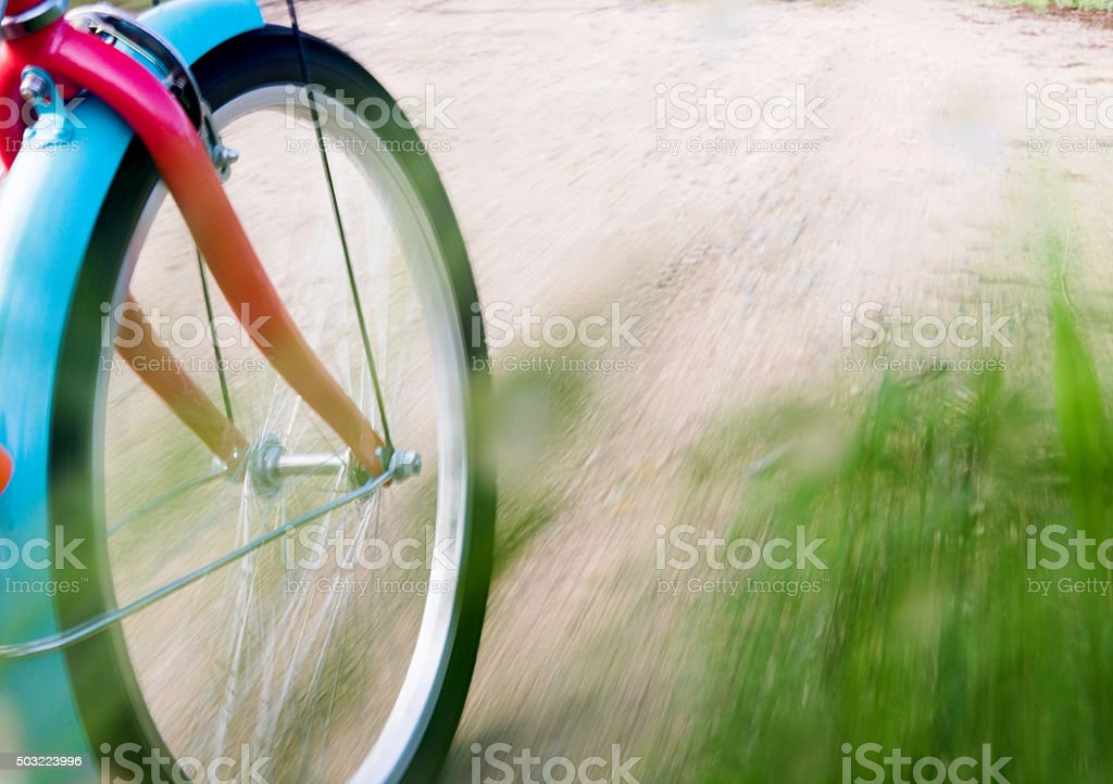Bicycle riding stock photo