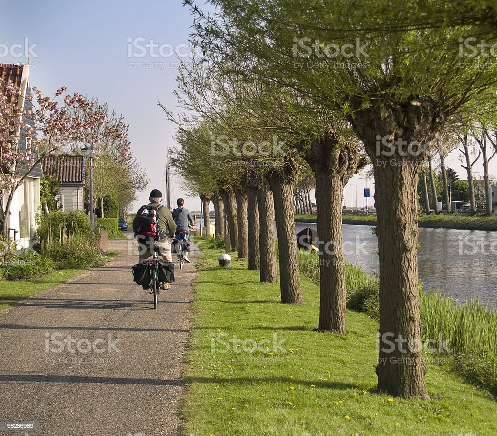 Bicycle Riding royalty-free stock photo