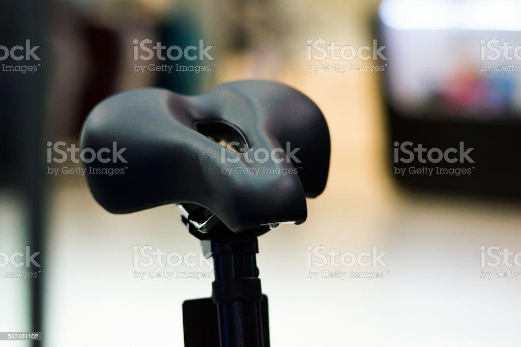 Bicycle Seat stock photo