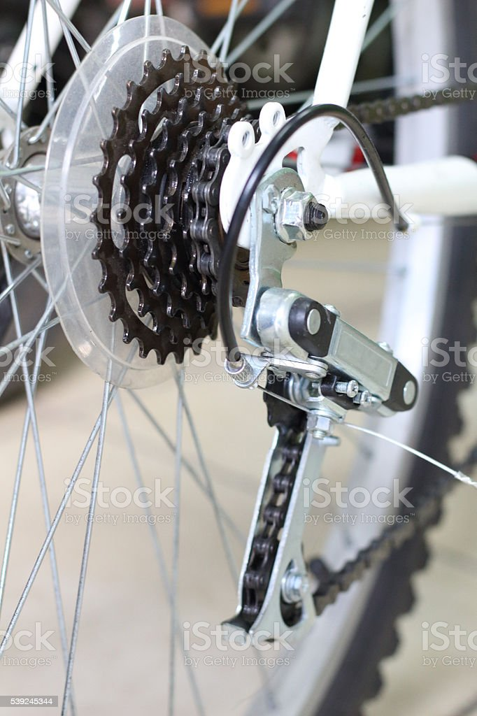 Bicycle service royalty-free stock photo