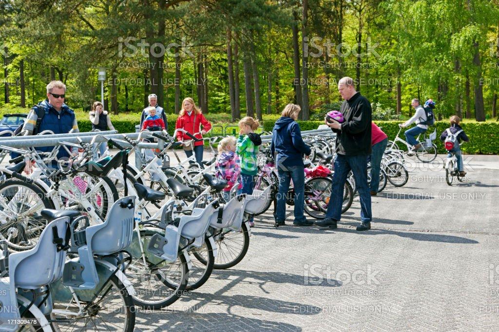 Bicycle sharing Hoge Veluwe foto
