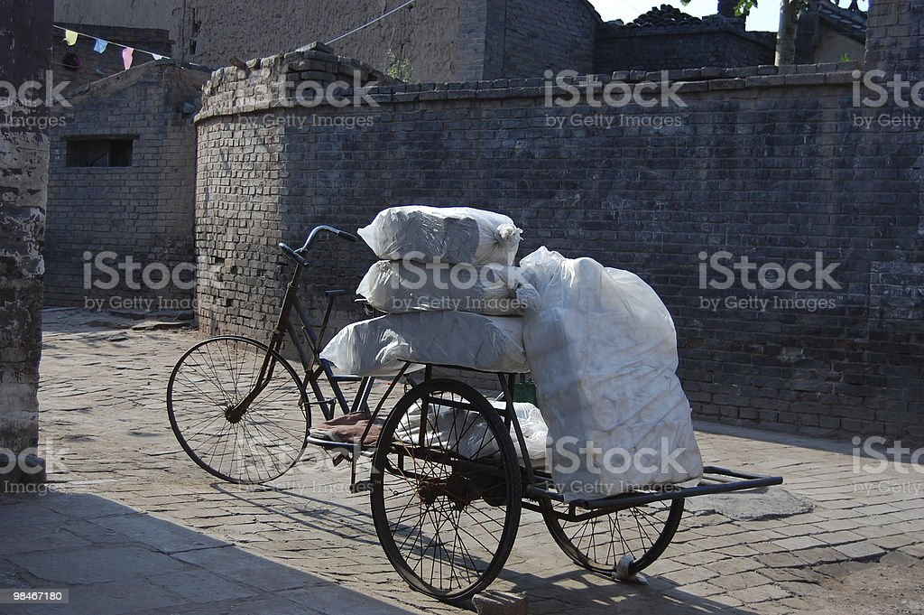 Bicycle shop royalty-free stock photo