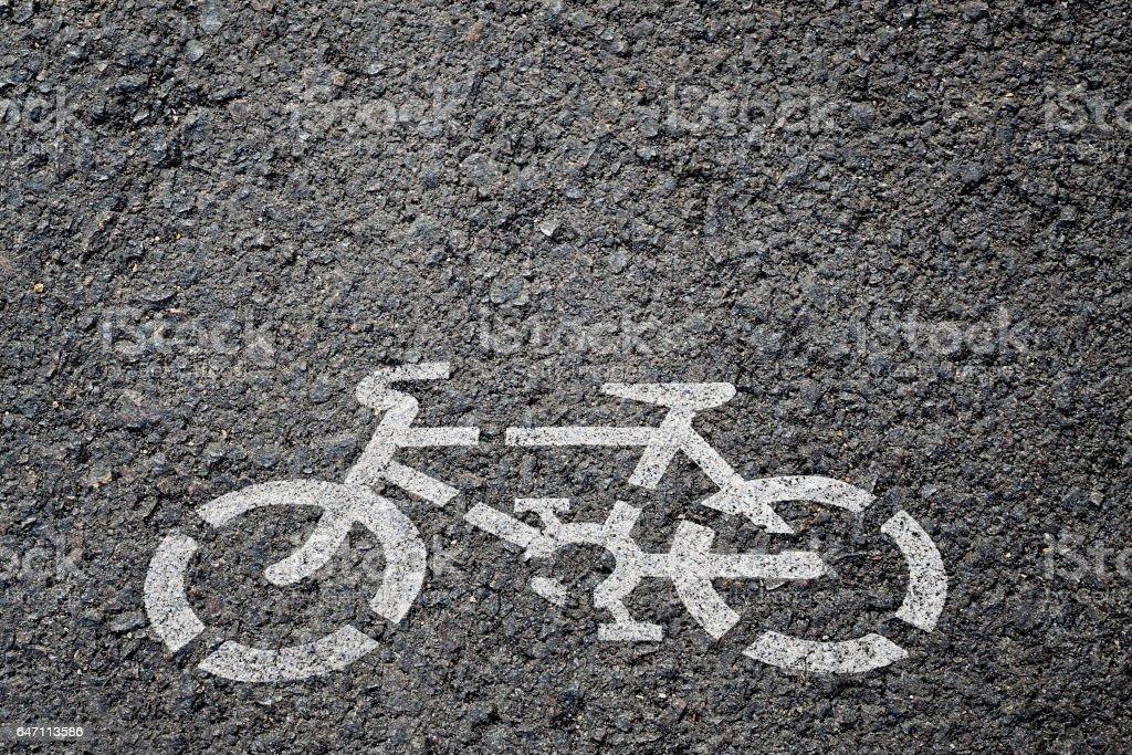 Placa de bicicleta  - foto de acervo