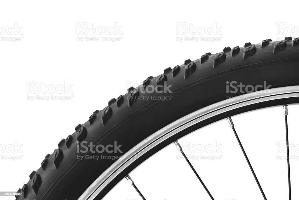 bicycle tire royalty-free stock photo
