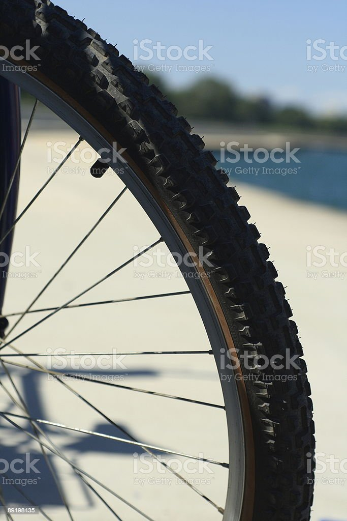 Bicycle Tire royalty free stockfoto