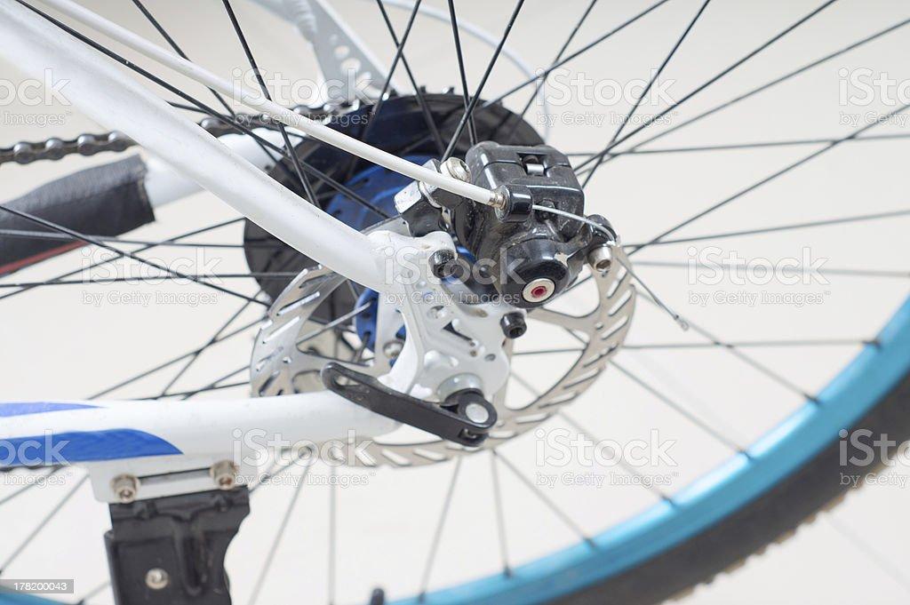 Bicycle transmission stock photo