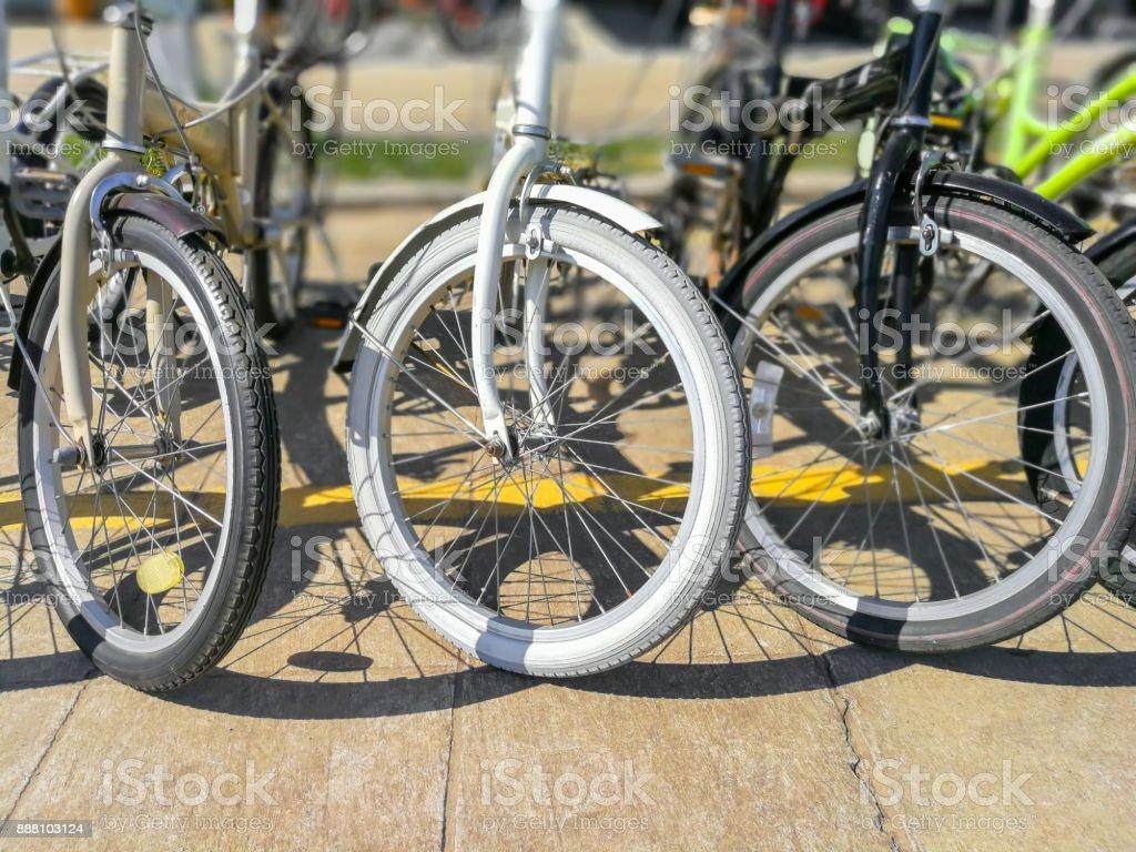 Bicycle, Wheel, Tire, Circle, Spoke stock photo